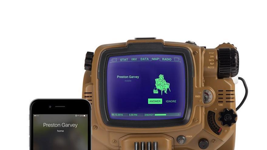 El Pip-Boy Deluxe Bluetooth Edition