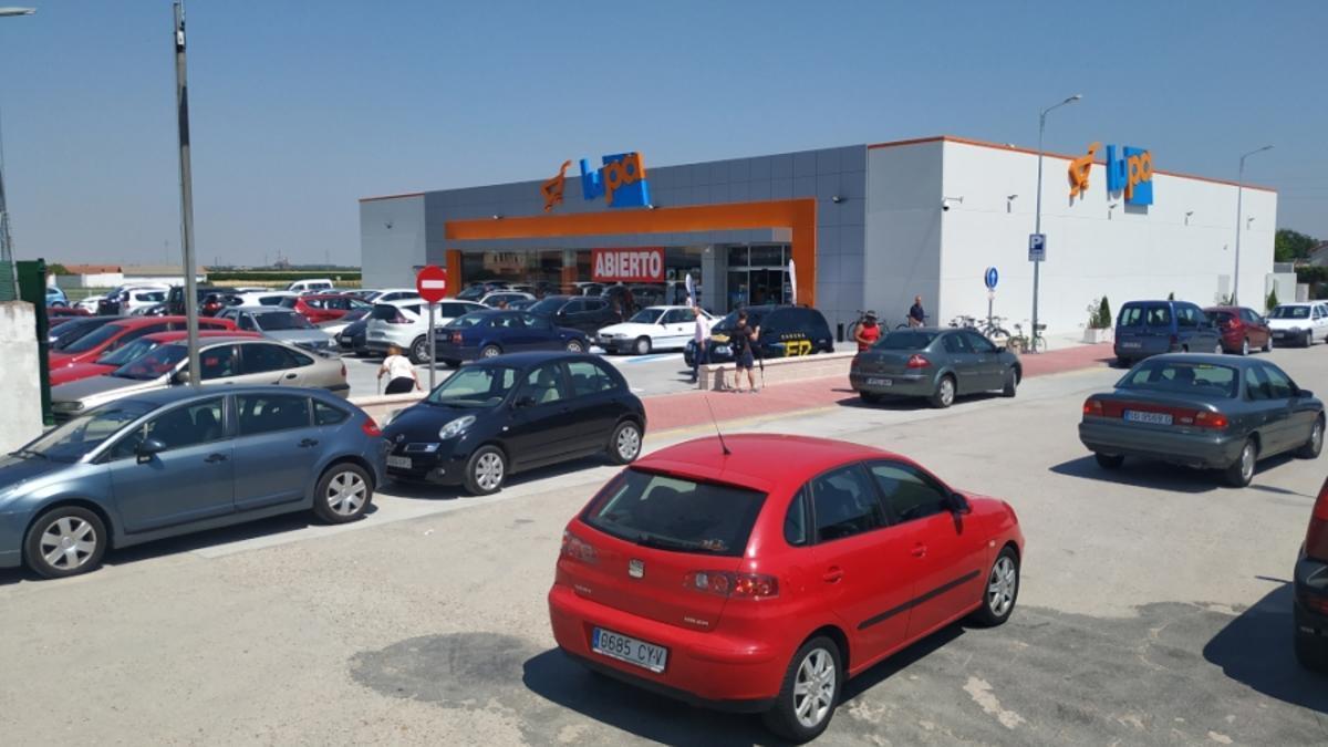 Supermercado Lupa.