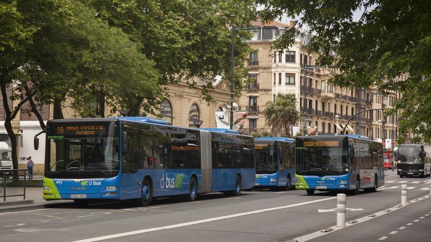 Los autobuses urbanos de Dbus contabilizan 118.125 viajes a lo largo del día de Santo Tomás, un 1,3% más que en 2015
