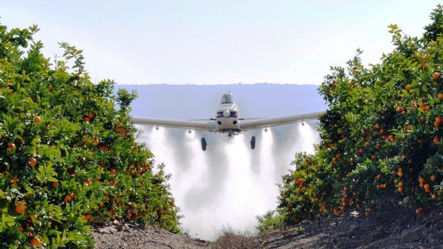 La patronal aérea calculó pérdidas millonarias por prohibir la fumigación aérea / Aeca-H.