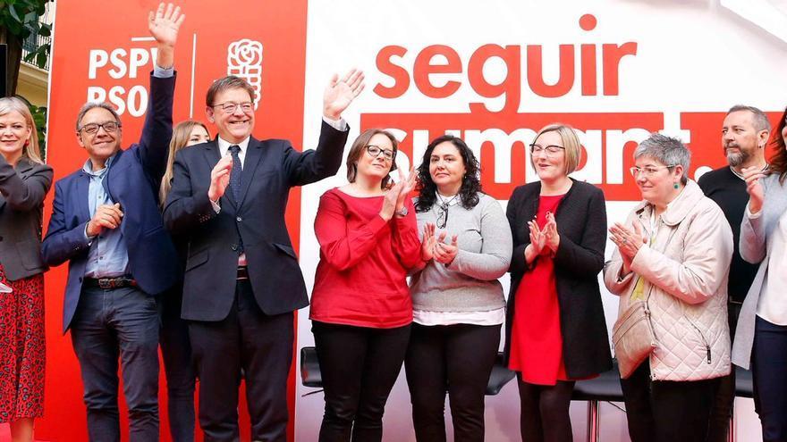 Ximo Puig ha presentado el lema de campanya del PSPV: 'Seguir Sumant'