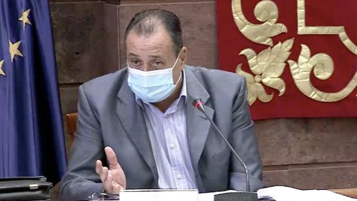 El consejero de Sanidad, Blas Trujillo.