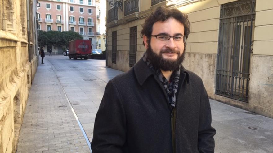 Roberto Jaramillo, concejal en Valencia y diputado provincial de València en Comú.
