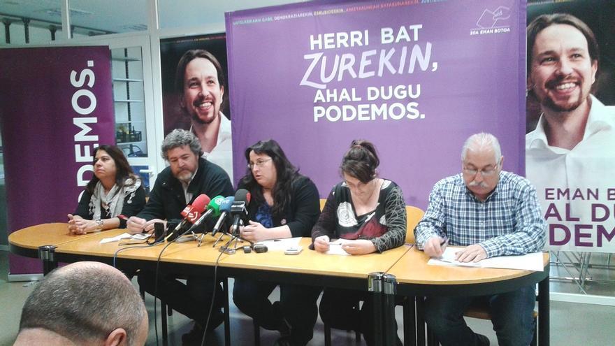Uralde cree que el resultado de Podemos en Euskadi y Cataluña apoya la necesidad de abordar el debate territorial