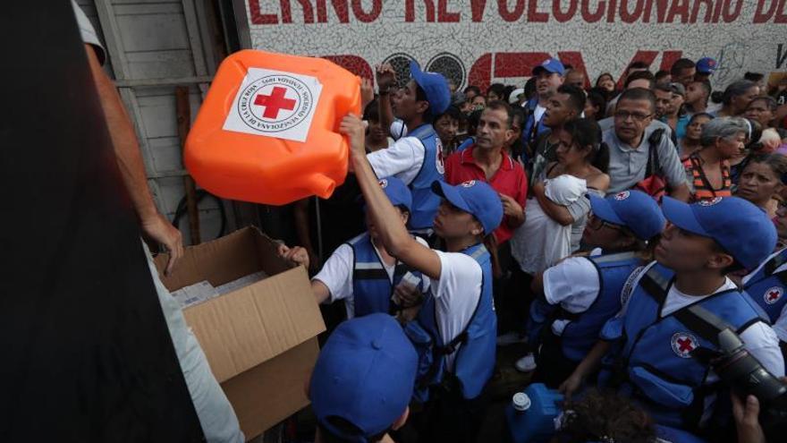 La ayuda humanitaria ya llega a los hospitales de Venezuela