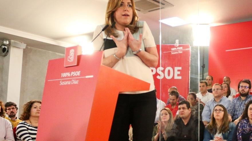 """Susana Díaz dice que los presupuestos son """"los más dañinos"""" y pide explicaciones a """"los que venden la recuperación"""""""