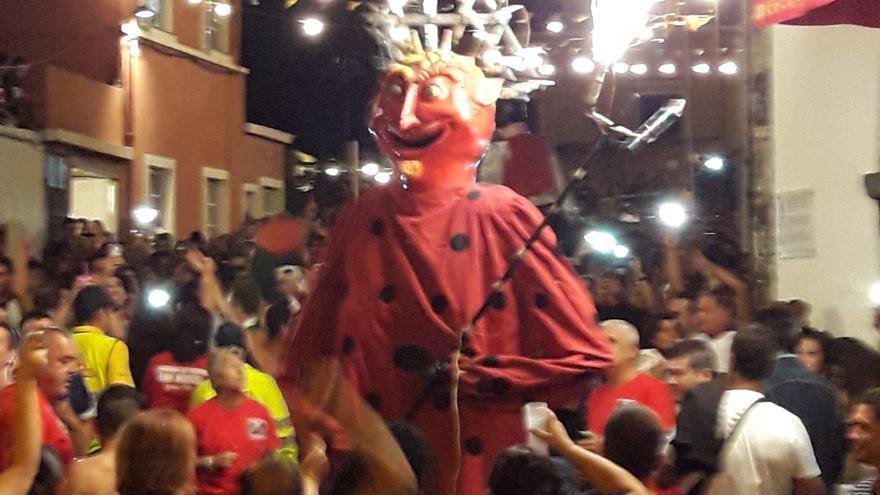 Imagen de archivo del Diablo de San Miguel.