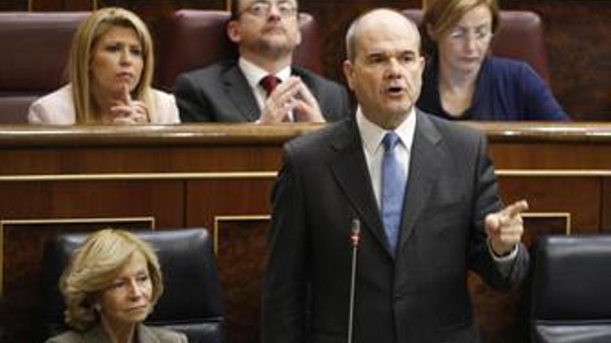 Manuel Chaves, en el congreso de los diputados
