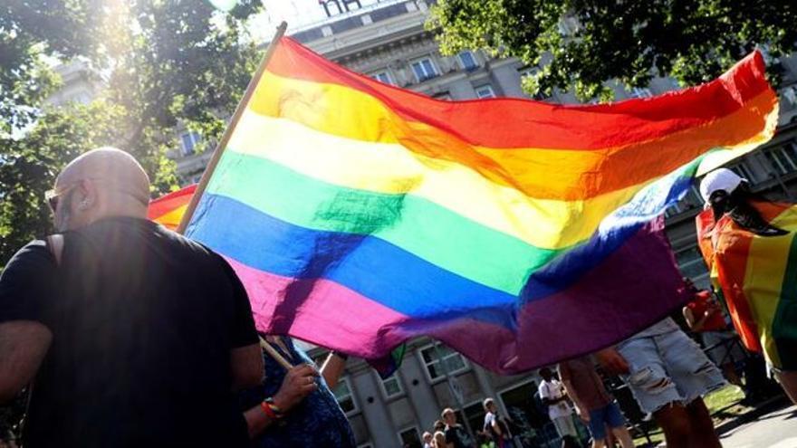Bandera orgullo LGTBI+