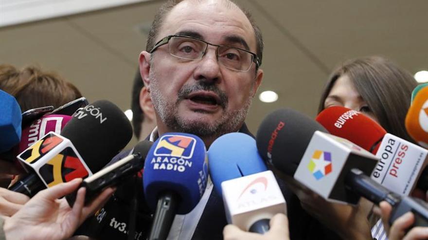 Lambán: Si no se elimina el veneno interno, el PSOE no puede ser alternativa