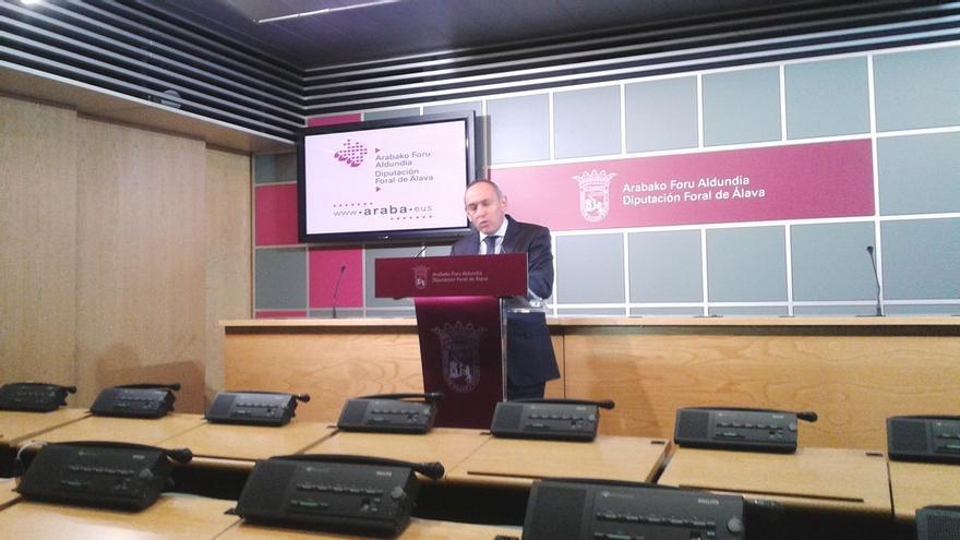 """González destaca la """"estabilidad"""" de Álava que, """"desde la senda del acuerdo y los presupuestos, va por buen camino"""""""