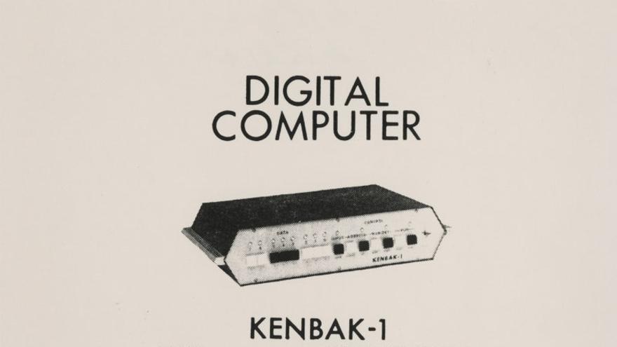 """El ordenador digital Kenbak-1, """"divertido y funcional"""""""