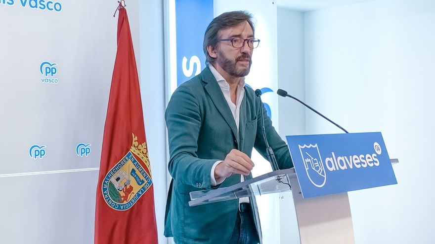 Iñaki Oyarzabal, presidente del PP de Álava