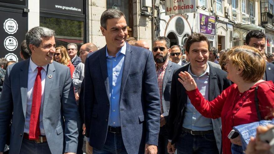 Sánchez pide no dejar a medias la faena el 26M y que gane el voto socialista
