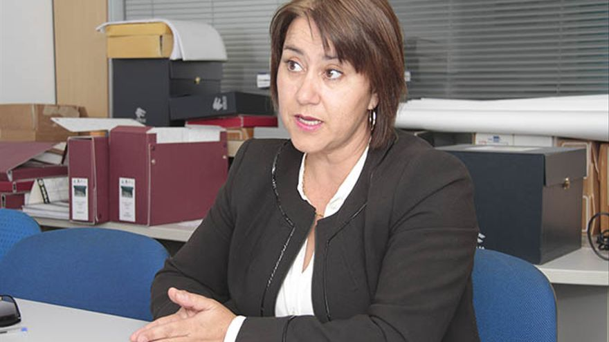 Gladys Acuña, alcaldesa de Yaiza