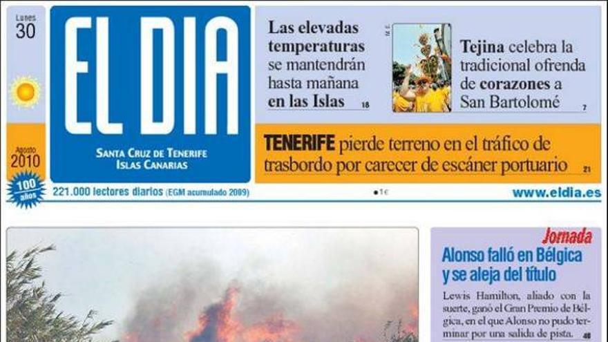De las portadas del día (30/08/10) #3