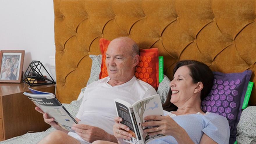 El set de masaje Pranamat ECO proporciona bienestar a toda la familia, desde los más pequeños hasta los más mayores