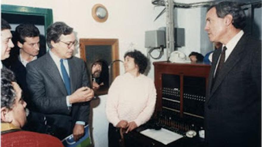 Magdalena Martín, el día en el que se realizó la última llamada desde una centralita manual (1988)