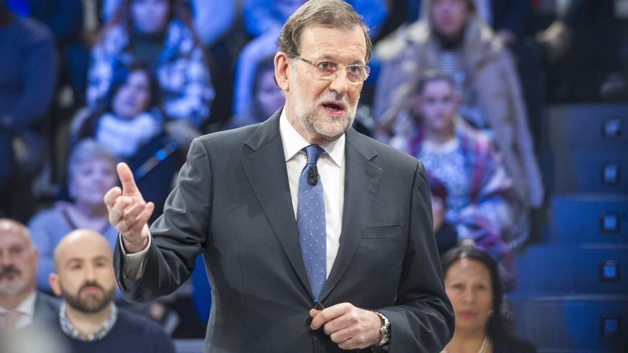 Mariano Rajoy, durante su intervención el sábado en La Sexta Noche.