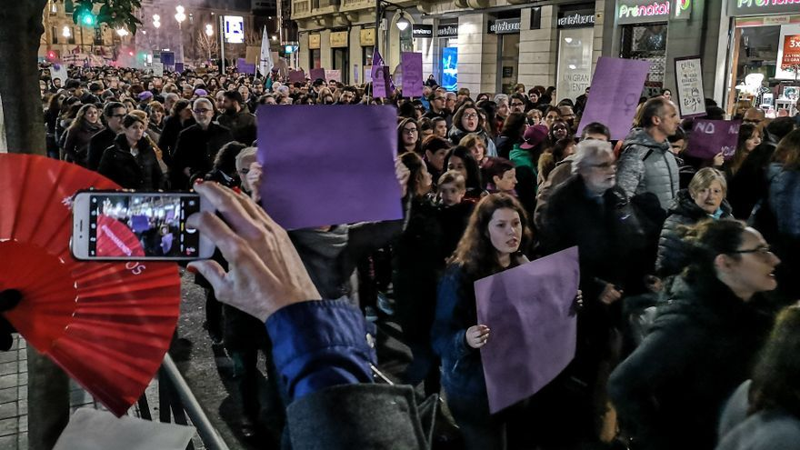 Manifestación del 8M en Valladolid