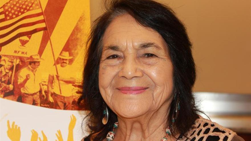 Dolores Huerta, una mujer acostumbrada a romper barreras en EE.UU.