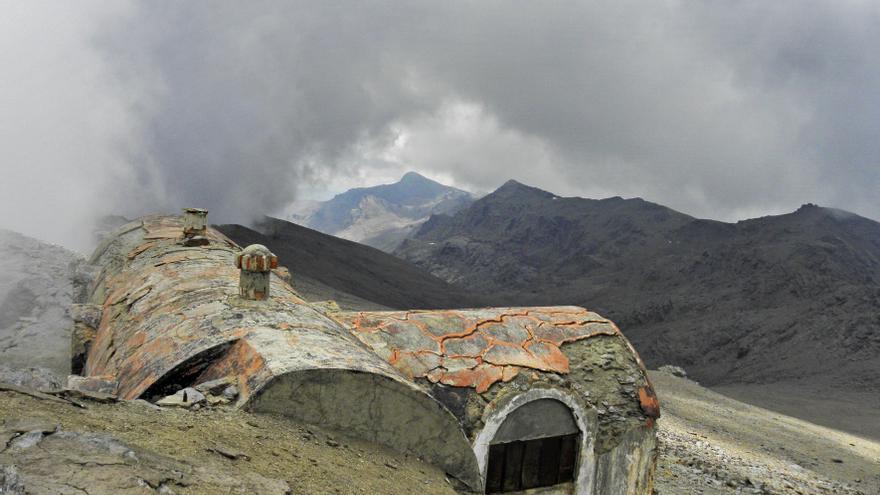 Refugio Elorrieta, en Sierra Nevada.