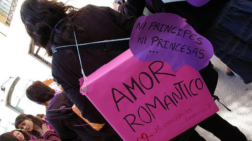 Manifestación en Madrid con motivo del Día Internacional de la Mujer el 8 de marzo / Gaelx