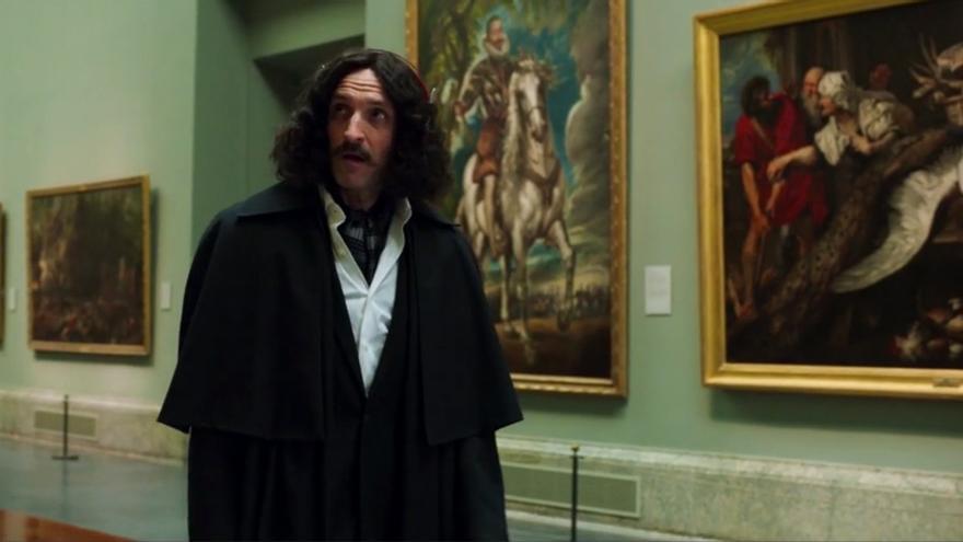 Julián Villagrán como Velázquez en 'El Ministerio del Tiempo'