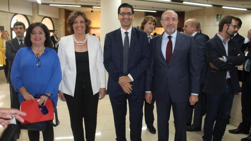 La consejera de Economía, Empresas y Empleo, Patricia Franco, en la inauguración de la VII edición del Foro de Emprendedores FOTO: JCCM
