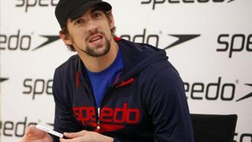 Phelps admite que llega en baja forma a la Copa del Mundo de Berlín