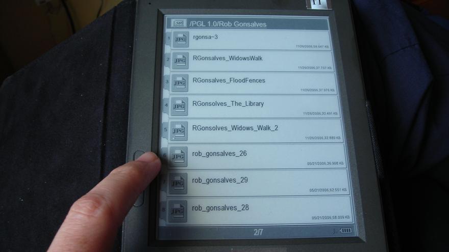 Libros electrónicos (Foto: jmerelo, Flikr)