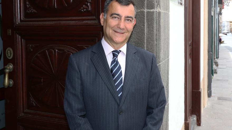 Juan Arturo San Gil, concejal  y portavoz de Ciudadanos en Santa Cruz de La Palma.