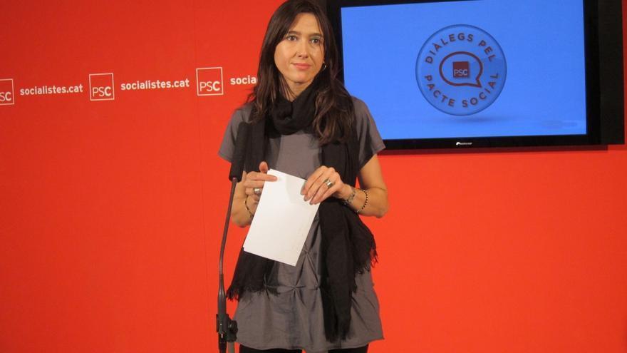Nuria Parlón, alcaldesa de Santa Coloma y miembro de la dirección de Pedro Sánchez.