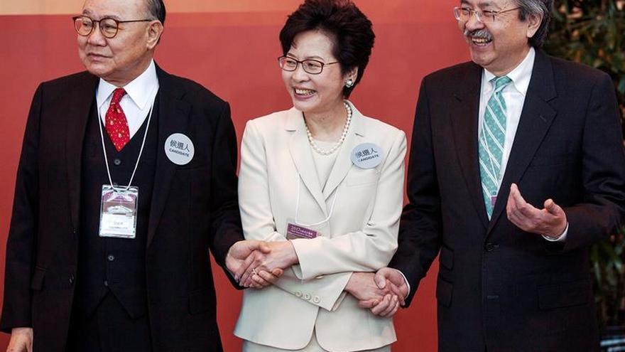 Carrie Lam gana las elecciones y será la nueva jefa de Gobierno de Hong Kong