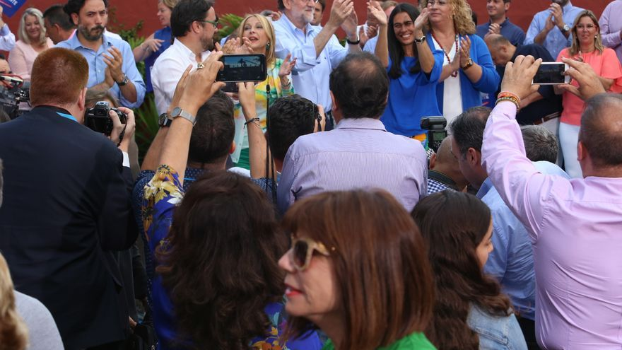 Mitin de Mariano Rajoy en Gran Canaria (Alejandro Ramos)