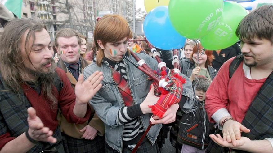 Irlanda celebra su gaita, patrimonio inmaterial de la humanidad de la Unesco