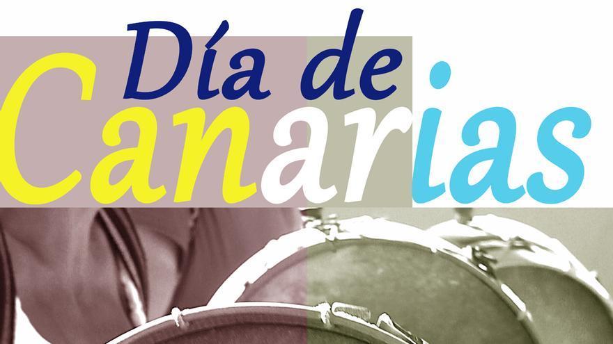 Cartel del Día de Canarias