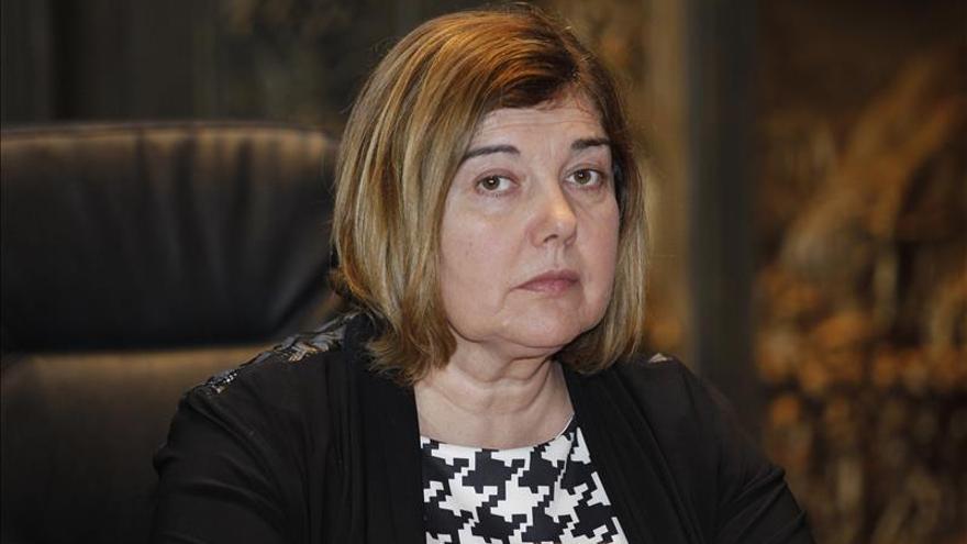 Rosario Charo Cordero presidenta de la Diputación provincial de Cáceres