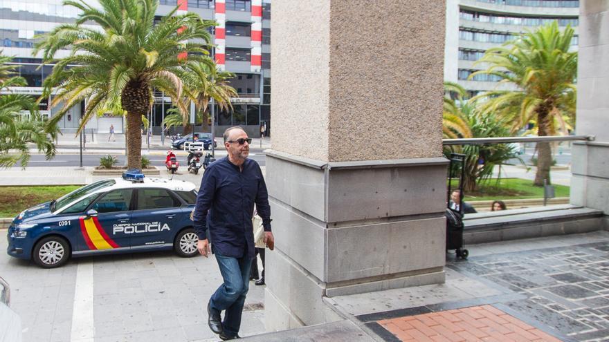 Miguel Zerolo en el juicio de Las Teresitas.