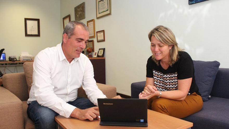 Gonzalo Pascual y Alicia Vanoostende.