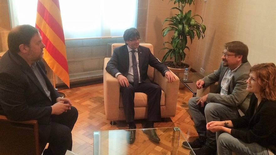 "Domènech ('comuns') afirma que el referéndum del Govern tiene ""aspecto"" de 9N"