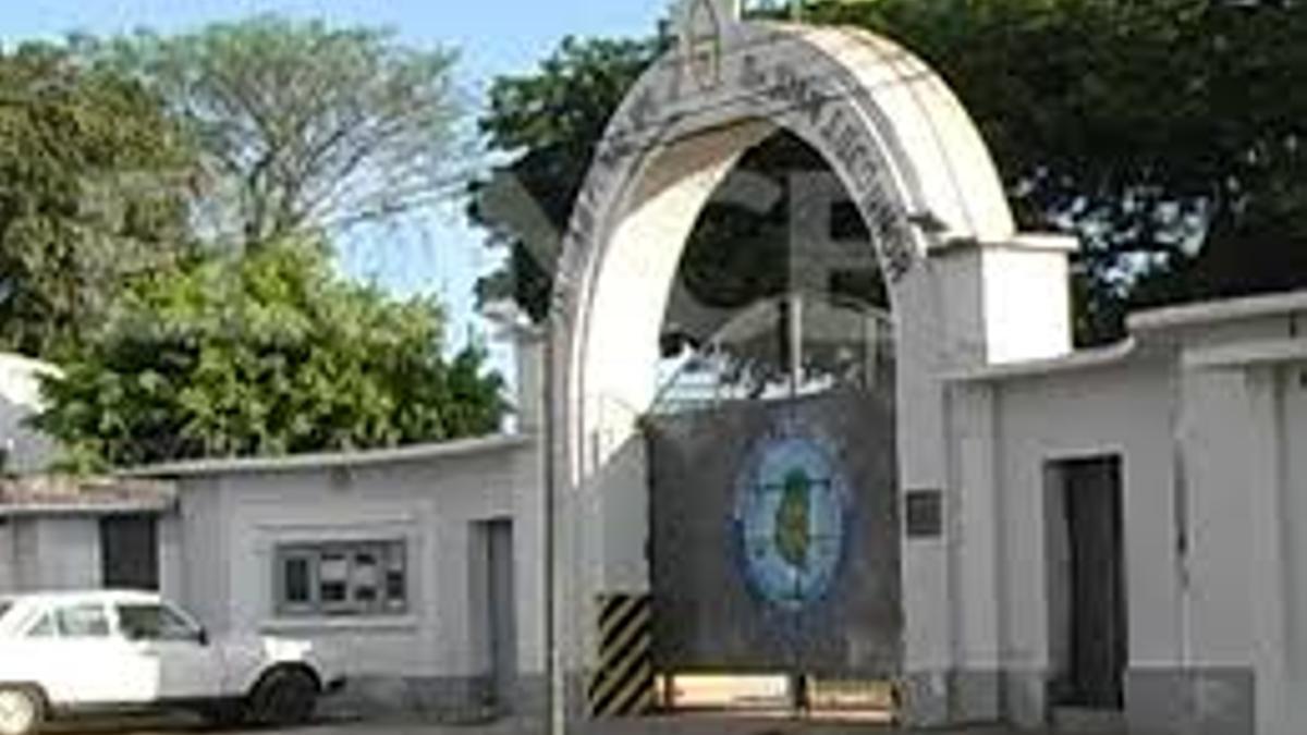 Esta es la Unidad Penal Nº1 de Paraná, donde estuvo dos años presos Mariano Giménez y adonde quería regresar.