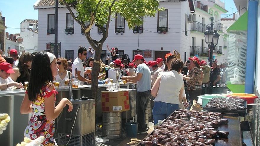 Día de la Morcilla, en Canillas de Aceituno // Diputación de Málaga