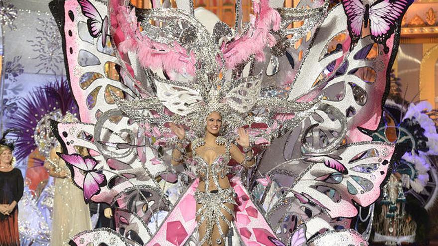 Paula Miranda, reina del Carnaval (FLICKR LPA PROMOCIÓN)