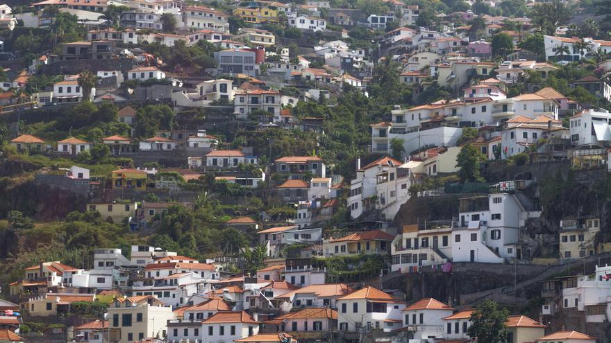 Panorámica de Madeira.