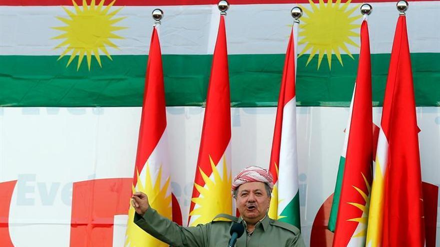 """Barzani dispuesto a una """"larga"""" negociación con Bagdad tras el referéndum"""