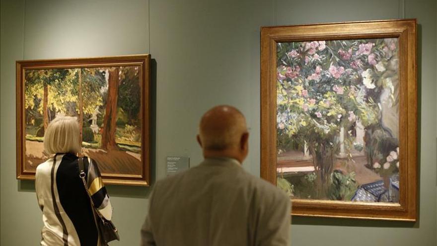El Museo San Pío V amplía la sala Sorolla con dos óleos inéditos en Valencia