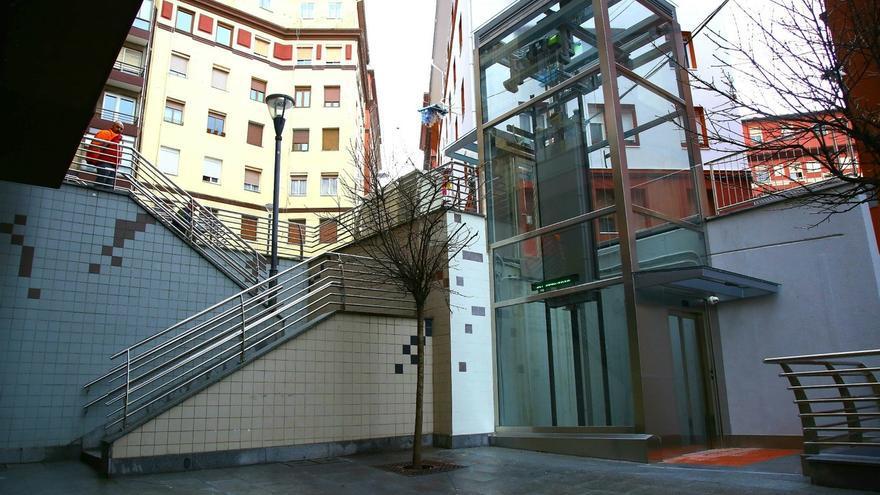 Ayuntamiento de Bilbao inaugura el ascensor que conecta Zabala con Miribilla y acerca el barrio al centro de la villa