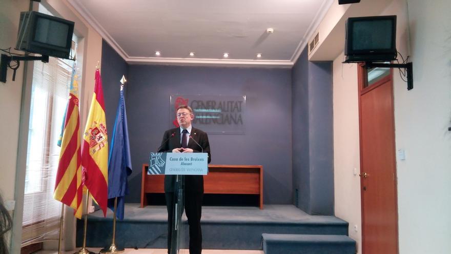 Puig apuesta por el cumplimiento de la ley y la apertura de diálogo político para superar el enfrentamiento