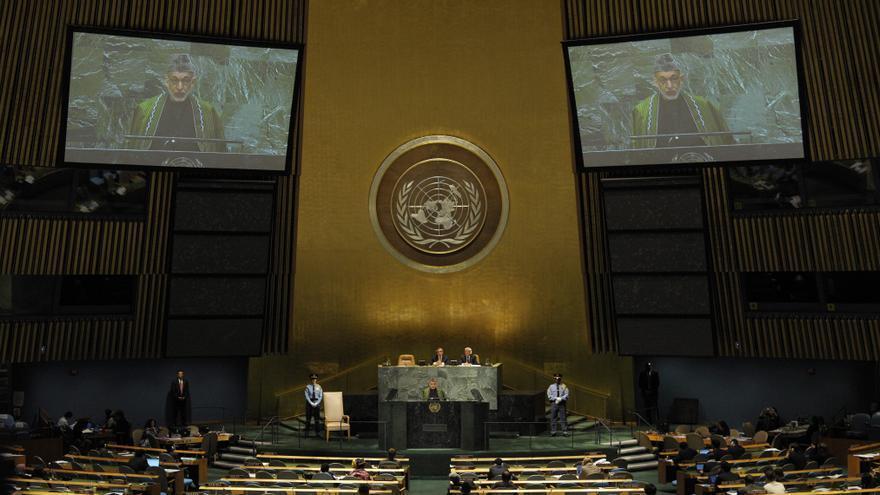 Karzai pide apoyo a la ONU para retomar las conversaciones de paz con los talibanes
